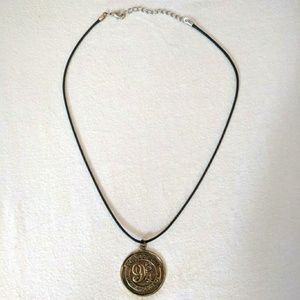 Gold Harry Potter 9 3/4 Necklace.